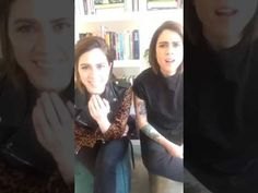"Tegan and Sara Christmas Q&A + Live ""Chipmunk Song"" Periscope Coke Music - YouTube"