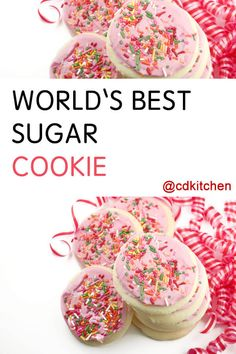 New Cupcakes Best Powdered Sugar Ideas Sugar Cookie Recipe Cream Of Tartar, Worlds Best Sugar Cookie Recipe, Sour Cream Sugar Cookies, Sugar Cookie Royal Icing, Sugar Cookie Dough, Roll Out Sugar Cookies, Sugar Cookies Recipe, Baking Cookies, Christmas Sugar Cookies