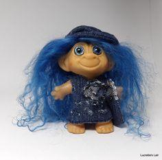 Vintage Tab Troll Doll OOAK by LucretiasLair on Etsy