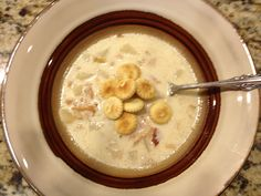 Crock Pot Clam Chowder is so good, and a favorite for my guests, as there is never a drop left! Crock Pot Soup, Crock Pot Slow Cooker, Crock Pot Cooking, Slow Cooker Recipes, Crockpot Recipes, Yummy Recipes, Soup Recipes, Slow Cooker Clam Chowder, Different Recipes