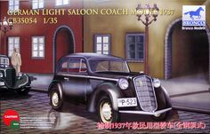 Bronco 1/35 1937 Opel Olympia Light Saloon # CB35054