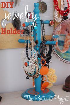 Jewelry Holder from Mug Tree