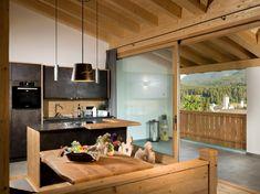 Chalet Novalis (Italia San Candido) - Booking.com Cafe Interior Design, Kitchen Island, Small Hotels, Andreas, Table, Furniture, Summer, Home Decor, Italia