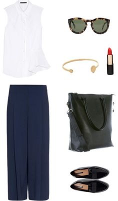 Dressing for work can quickly become a grind and if you're like us, we're ready to give skinny pants, heels and black-anything a rest. Whether you're working in or out of the office, try one of these inspirations to ace your workwear without having to sacrifice comfort and style. Featuring the Daame leather laptop tote.
