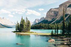 Spirit Island -Maligne Lake, Alberta, Canada,14.07.31