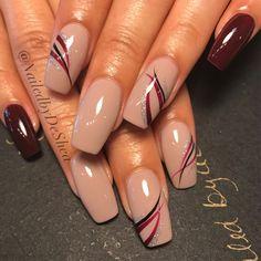Sleek and classy - nail art gallery nail art inspiration in 2019 ongles ver Fancy Nails, Cute Nails, Pretty Nails, My Nails, Pink Nails, Beautiful Nail Designs, Beautiful Nail Art, Gorgeous Nails, Ongles Beiges