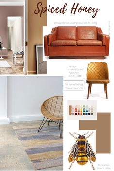 Dulux, the UK's leading paint brand, has revealed its coveted Colour of the Year for duly named Spiced Honey. As is usually the case I would prefer to ref Home Warranty Companies, Paint Brands, Soho House, Minimalist Furniture, Interior Decorating, Interior Design, Cozy Place, Color Of The Year, Sustainable Design