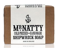 Deodorant stick, shampoo, shaving soap – this bar can do everything but build you a raft back to civilization. Hand-made and traditionally cold-pressed, this soap has been steeped for a month to get it just right. It's infused with vetiver, patchouli and a hint of cocoa to give it an earthy, woody, rustic scent (read: manly). We bet you'll choose that over a life raft any day.