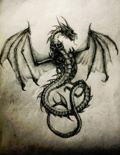 LimonTea - Dragon Print 1