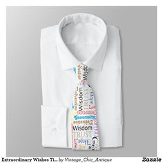 Shop Extraordinary Wishes Tie Customized created by Vintage_Chic_Antique. Great Gifts For Guys, Find Man, Custom Ties, Unique Image, Wish, Birthdays, Pattern, Prints, Ebay