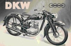 "The DKW RT125 is the most copied motorcycle in history. The RT 125' is a German two-stroke motorcycle made by DKW in Zschopau in the 1930s, IFA and MZ in the 1950s and early 1960s, and DKW in Ingolstadt in the 1950s and 1960s. ""RT"" stands for ""Reichstyp"" or ""National Model"".It appears that after WW2, the design of the DKW 125RT was open to anyone who wanted it. Some manufacturers aded it to their product portfolio, but other companies were started with that very bike as the first product."