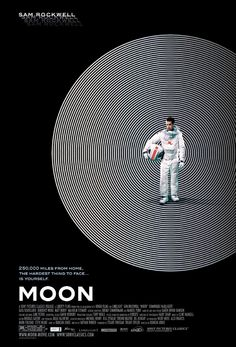 """Moon"" (2009) directed by Duncan Jones, starring Sam Rockwell & Kevin Spacey. My fav from '09."