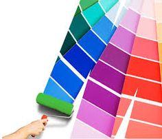 Con muestras de colores de pintura puedes hacer un práctico calendario