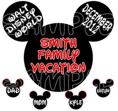 Custom Personalized Mickey Mouse Disney by KimsCreations1127, $5.99