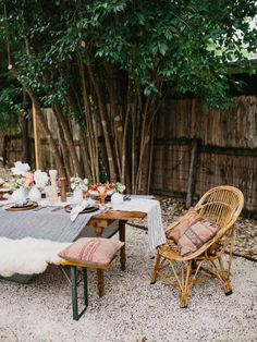 Because we plan to do a lot of alfresco dining this summer.