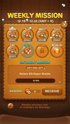 Weekly mission / #game design #webdesign