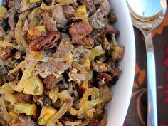 Thanksgiving Caramelized Onion & Sausage Stuffing   PaleOMG - Paleo Recipe