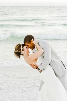 Wedding Picture on Santa Rosa Beach, Florida
