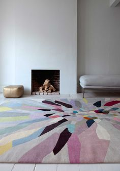 Zap by Fiona Curran | Wool Contemporary hand-knotted designer rugs