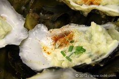 S'ouvrir au monde (du 2.0) | iodé - Tartare d'huîtres au chèvre