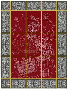 And To All a Good Night OESD tiled design $59.99  9 tiles plus border and corner pieces