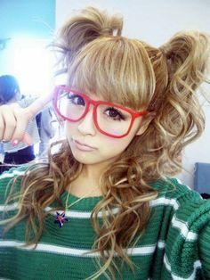 I Love Her Blonde Curls & Pig Tails.
