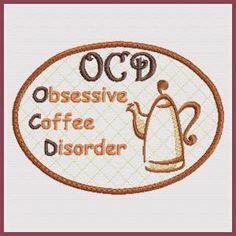 Coffee Placemat - Coaster and Towel Topper (In-the-hoop) - Free Instant Machine Embroidery Designs