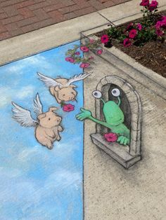Flower Tower, Imlay City - David Zinn