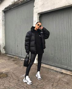 Winter Mode Outfits, Casual Winter Outfits, Winter Fashion Outfits, Look Fashion, Stylish Outfits, Fall Outfits, Swag Fashion, Summer Outfits, Sneakers Fashion Outfits