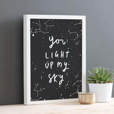 You light up my sky! ✨
