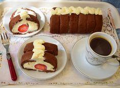 Ruladă din pișcoturi cu cacao și cremă de mascarpone - Rețete Merișor Tiramisu, Bacon, Sweets, Ethnic Recipes, Food, Sweet Treats, Mascarpone, Sweet Pastries, Meal