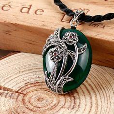 Купить товар925 стерлингового серебра ювелирные изделия ничуть зеленый…https://vk.com/chernyj_nefrit_kupit