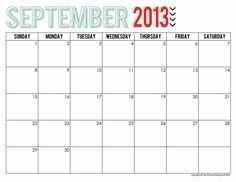Free printable calendar, Free printable and Printable calendars on ...