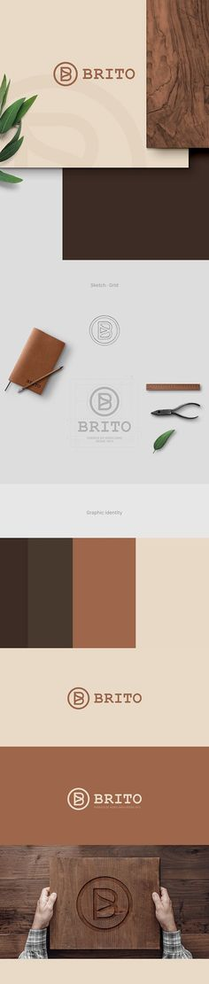 Brito - Branding on Behance