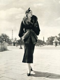 Fashion in Paris - 1930's - @~ Watsonette