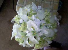 Bride's bouquet for my niece's wedding