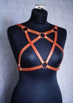 Women Leather Harness Женская портупея из от Harnessrnd на Etsy