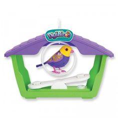 An interactive bird and playset for one or multiple Digibirds.