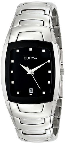 Men's Wrist Watches - Bulova Mens 96G46 Stainless Steel Watch with Link Bracelet >>> Details can be found by clicking on the image. (This is an Amazon affiliate link)