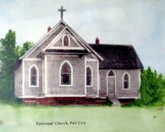 St. Clair County Rewound--Pell City --The St. Mary, the Virgin Episcopal Church was organized in 1903 and the structure was built in 1907.  The building was torn down in the 1940's.