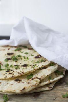 NO-YEAST NAAN [Persian Cuisine] [amesadacarolina] [naan, nan, n'n, khamiri]