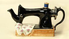 Sew you want a brew.    Tony Carter Teapots