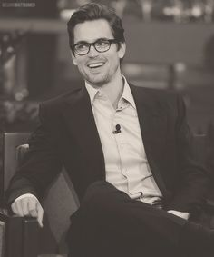 Sophisticated laughter...Matt Bomer