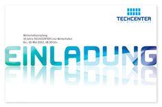 Techcenter Einladung, via Flickr. Tech Companies, Company Logo, Logos, Advertising Agency, Economics, Invitations, Logo