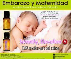 Aceites esenciales doTERRA 100% grado terapéutico. Usos antes y después del parto.