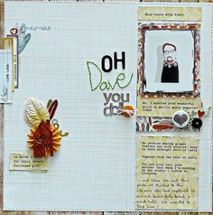 14 Scrapbookers Lift Their Own Scrapbook Designs and Show You How | Sian Fair | Get It Scrapped