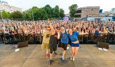Isi & Gonzi on tour with Ronny Trettmann I Rock am Kopp July 2014 - Chemnitz