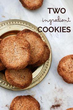 Two-Ingredient Banana Coconut Cookies
