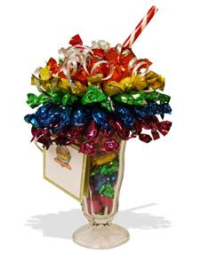 Candy bouquets ~  a great DIY gift