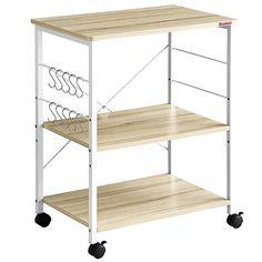 Amazon Com Mr Ironstone 3 Tier Kitchen Baker S Rack Utility